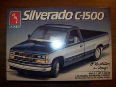 AMT Silverado C-1500  box art