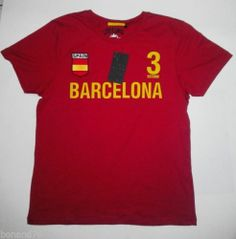 Spain Barcelona Unisex T-Shirt Football Series