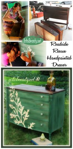 ART IS BEAUTY: Fenner Nature Center ROADSIDE RESCUE dresser