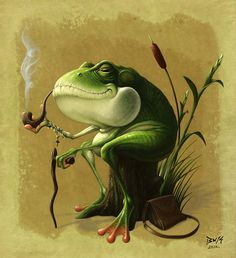 Today is a glimpse into the fascination of frogs for artists. Description from thatcreativefeeling.com. I searched for this on bing.com/images