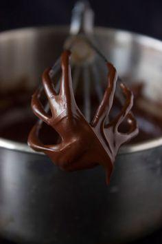 ganache de chocolate - una llepadeta? ;-)