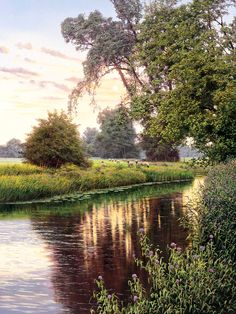 Before Dusk | THE SMITH GALLERY Michael James Smith, David Smith, Amazing Nature, Amazing Art, Landscape Art, Landscape Paintings, Great Paintings, Wow Art, Traditional Paintings
