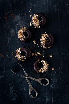 Donuts chocolat & pé