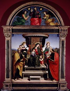 essays on raphael sanzio Free essay: raphael created the marriage of the virgin before he was even 21 years old, and he was still perugino's apprentice even then, raphael had a.