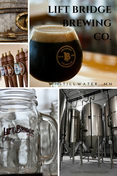 Lift Bridge Brewery in Stillwater, MN, was Minnesota's first tap room. The Minnesota craft brewery is known for its Farm Girl Saison, as well as season beers like Irish Coffee Stout and a biscotti beer.