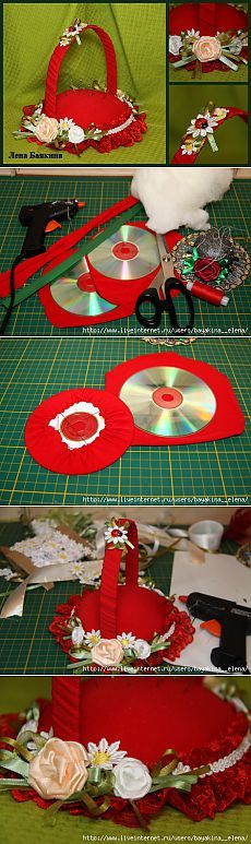 23 Clever DIY Christmas Decoration Ideas By Crafty Panda Cd Crafts, Hobbies And Crafts, Diy Crafts To Sell, Sewing Crafts, Crafts For Kids, Paper Crafts, Christmas Crafts, Christmas Decorations, Christmas Ornaments