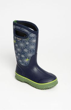 Bogs 'Classic High - Spider' Waterproof Boot (Toddler, Little Kid & Big Kid) | Nordstrom