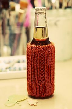 Knit Koozie Pattern : knit-wit on Pinterest Knitting Patterns, Ravelry and Free Knitting