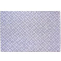 Lavender rug - for the a rainbow bedroom with light yellow walls {Diamonds in the Rug from Land of Nod}