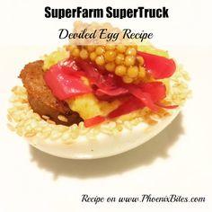 SuperFarm SuperTruck Deviled Eggs Recipe