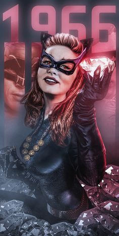 Fan poster of 'Catwoman' from Batman Batman Y Robin, Batman 1966, Im Batman, Batman Comics, Dc Comics, Superman, Batman Art, Batman Tv Show, Batman Tv Series