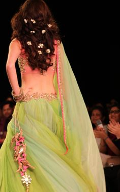 TANTRUM BRIDE by Anushree Reddy - The Colors are everything