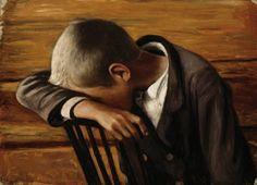 Suru (The Sorrow), Hugo Simberg 1900