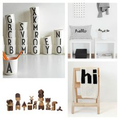 Gift Guide for Kids: Playing with Letters - Petit & Small
