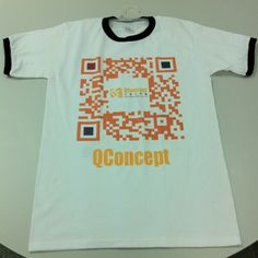 Real QConcept T-shirt done!  Let's put it on, everybody!