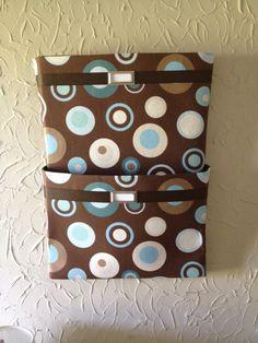 Decorative Hanging File Storage Boxes Wall Hanging File Organizer  Organization  Pinterest  Hanging