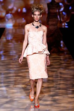 Badgley Mischka Spring 2012 Ready-to-Wear Collection Slideshow on Style.com