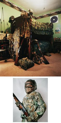 Where Children Sleep, by James Mollison - stories of diverse children told through portraits and pictures of their bedrooms. …A way to address complex situations and social issues affecting children would be to look at the bedrooms of children in all kinds of different circumstances. …A selection from the 56 diptychs in the book (Chris Boot November 2010). Joey, 11, Kentucky, USA