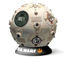 Jedi training remote alarm clock. I like this!