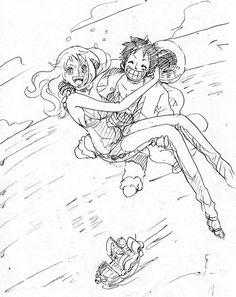 Nami Luffy