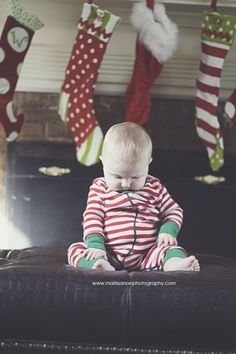 Christmas, he tried to stay awake to get a look at this 'Santa' character