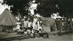 Simi Valley Elementary School teacher Florence Johnson visits a migrant farm camp on the Hacienda Sinaloa ranch off present day Madera Road in the 1930s.  She is standing approximately where my childhome still stands today on Milan St. cul-de-sac.  Mrs. Johnson taught school to the large Mexican migrant population in Simi Valley during the 30's-40's.  In 1845, it was Mexico, many of these family were already here.