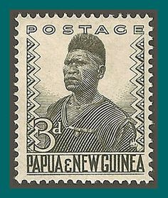 Papua New Guinea Stamps 1952 Policeman, mint