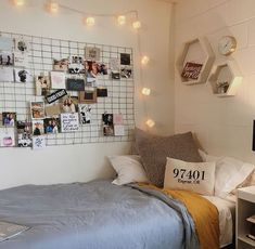 Room Decor Room inspo Dream Rooms Dream bedroom Home Decor Bedroom inspo Dream Rooms, Dream Bedroom, Girls Bedroom, Diy Bedroom, Diy Dorm Room, Diy Room Decor For College, Dorm Room Bedding, College Dorm Rooms, Bedroom Themes