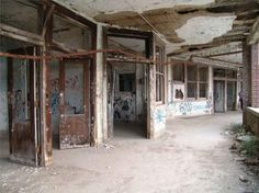 waverly hills sanatorium, louisville, kentucky. said to be one of the most haunted places in the usa, if not THE most haunted. rumor states over 64,000 died here, but historians estimate around 9000.