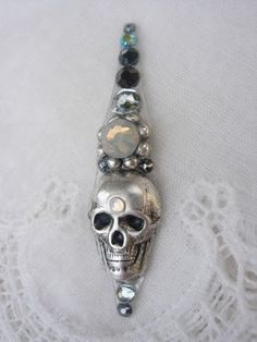 Frida Bindi  swarovski belly dance tribal crystal by KuhlJewels, $15.00