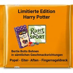 Harry Potter Jelly beans Ritter Sports Funny Witty Sayings Bilder. Jelly Beans, Beans Beans, Sport Funny, Harry Potter, Witty Quotes, Sports Humor, Jokes, Fake News, Roxy