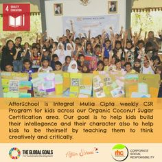 Our CSR program for the kids 😍😍 We believe that even the smallest action can make a big change. . . . .  #CSR #SDGs #globalgoals #sustainablity #healthynothungry #happy #children #WeForSDGs #indonesia #qualityeducation #goal17 #education #coconutsugar #keratonorganic #passion #inspire #inspiration #empowerment #bethechange #livingthroughgiving #feedandfeellove #environment #dogood #changetheworld #explore #childrenarethefuture #happiness2others #socialgood #goals