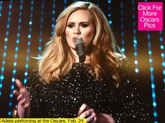 Adele rocks the Oscars stage with Sky Fall at the Oscars!