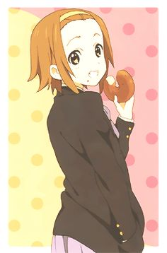 K ON ✰ | Ritsu. My appreciation for Ritsu is growing! Though I don't relate to her as much as Yui, Mugi, Ui, and Mio, I really like her!