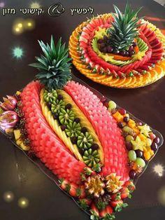 Ambrosia Salad, Hot Dogs, Trays