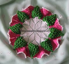 Doting on Doilies: Grapes Doily