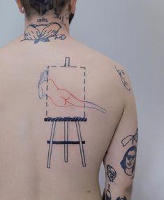 Line Tattoos, Great Tattoos, Body Art Tattoos, Unique Tattoos, Beautiful Tattoos, Tatoos, Tattoo Life, Tattoo You, Tattoo Designs