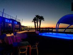 Shimmy's Beach Club, Cape Town Beach Club, Cape Town, Sun Lounger, Gazebo, Deck, Iphone, Building, Places, Travel