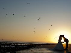 Beautiful beach photo by Yansen Setiawan Photography. More here: http://snapknot.com/wedding-photographer/4773-Yansen-Setiawan-Photography