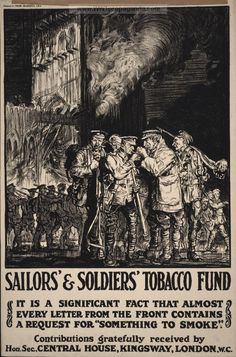 Pipe Forums and Pipe Smokers bulletin board. Read and join in the pipe and tobacco forums discussion. We welcome all types of Pipe Smokers into the Pipe Forums. World War One, First World, Ww1 Propaganda Posters, Smoke Design, Nose Art, Historical Maps, Vintage Pictures, Vintage Posters, Lettering