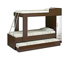 Triliche composê Cama Murphy, Murphy Bed, Double Beds, Grandkids, Bunk Beds, Furniture Decor, Architecture Design, Mary, Decoration