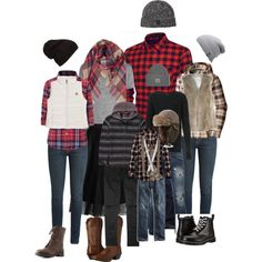 Lumberjack Family Photo for Fall 2016 Family Portrait Outfits, Family Picture Outfits, Family Portraits, Family Pictures What To Wear, Winter Family Photos, Family Pics, What To Wear Fall, Farm Clothes, Christmas Portraits