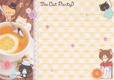 Kawaii memo paper - Cats