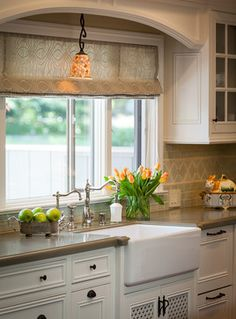 Traditional Home - Traditional - Kitchen - by Brownhouse Design, Los Altos, CA