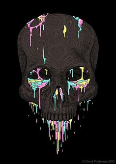 skull / black / colors