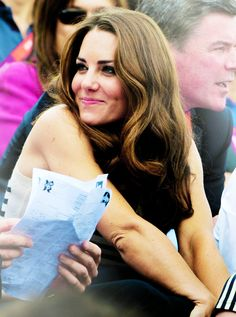 Kate Middleton | Duchess of Cambridge. Very nice picture for Kate Middleton with a sweet smile.
