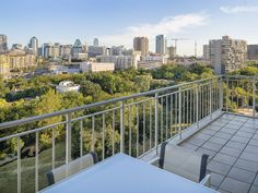 The Mansion Residences building showcases vertical living at its finest – such as this Bodron+Fruit designed home at 2801 Turtle Creek Boulevard #7E.