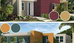 Resultado de imagen para colores para fachadas 2016