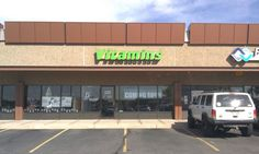"""LED Lit letters for Be Strong Vitamins, in the shopping center just south of Arapahoe on Yosemite. Finished size was 22"""" tall by 137"""" long. This has a raceway installed behind the letters that contains the electrical components of the sign."""
