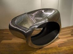 MT Rocker, 2005 By Ron Arad @ Timothy Taylor Gallery.
